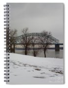 Southern Snow Spiral Notebook