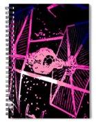 Space Battle Spiral Notebook
