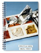 Space: Food Tray, 1982 Spiral Notebook