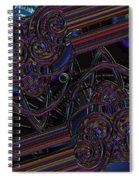 Space Glass Spiral Notebook