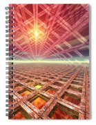Space Portal To The Stars Spiral Notebook