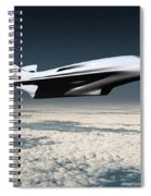 Space Transport Spiral Notebook