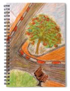 Spacetime Curvature In Israel Spiral Notebook