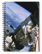 Spacewalk Spiral Notebook
