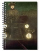 Spain: Automobile, 1909 Spiral Notebook