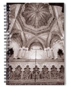Spain Cathedral 1 Spiral Notebook