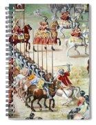 Spain: Higueruela, 1431 Spiral Notebook
