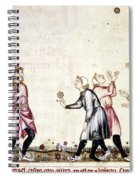 Spain: Medieval Ballgame Spiral Notebook