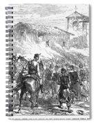 Spain: Second Carlist War Spiral Notebook