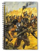 Spanish Conquistadors Spiral Notebook