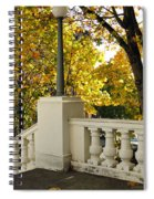 Spanish Steps II Spiral Notebook