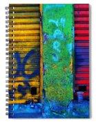 Spare A Spill Spiral Notebook