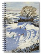 Sparrowpit Derbyshire Spiral Notebook