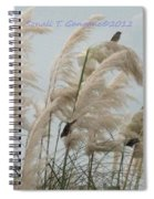 Sparrows In Breeze Spiral Notebook