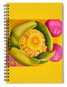 Spatterdock - Panel 1 Of 3 Spiral Notebook