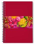Spatterdock - Panel 3 Of 3 Spiral Notebook