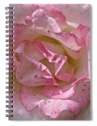Spattered Pink Promises Spiral Notebook