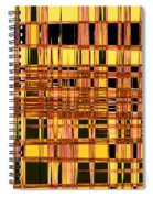 Speak To Me - Abstract Art Spiral Notebook