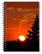 Spectacular Sunset II Spiral Notebook