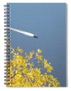 Speed Boat Spiral Notebook
