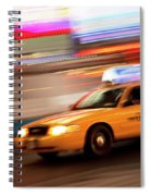 Speeding Cab Spiral Notebook