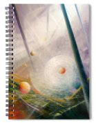 Sphere New Lights Spiral Notebook
