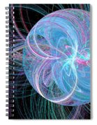 Spherical Symphony Spiral Notebook