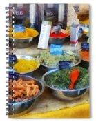 Spice Stand Spiral Notebook