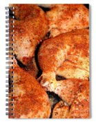 Spicy Chicken Spiral Notebook