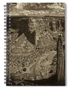 Spider Rock - Toned Spiral Notebook