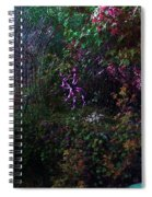 Spider Web In The Magic Forest Spiral Notebook