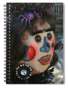 Spiderwoman Scarecrow Spiral Notebook