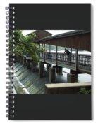 Spillway In Indiana Spiral Notebook