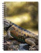 Spiny Lizard Spiral Notebook
