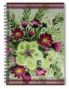 Spiral Bouquet  Spiral Notebook