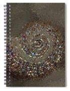Spiral Textures Spiral Notebook
