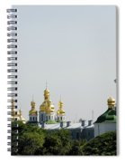Spires Of Church Spiral Notebook