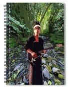 Spirit Creek Rushing 2 Spiral Notebook