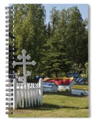 Spirit Houses Of Eklutna Spiral Notebook