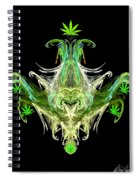 Spirit Of The Leaf Spiral Notebook