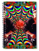 Spirit Of The Rose Spiral Notebook