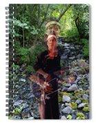 Spirit Rising From The Creek Spiral Notebook