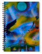 Spirit World Spiral Notebook