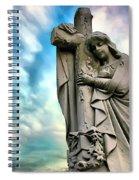 Spiritual Healing Spiral Notebook