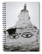 Spirituality In The Himalayas Spiral Notebook