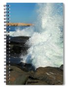 Splash Spiral Notebook