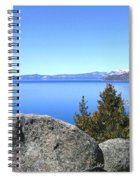 Splendid Lake Tahoe Spiral Notebook