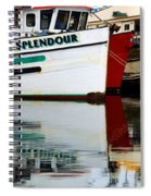 Splendour Spiral Notebook