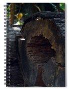 Split A Piece Of Wood Spiral Notebook