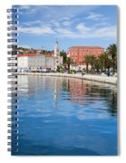 Split Bay In Croatia Spiral Notebook